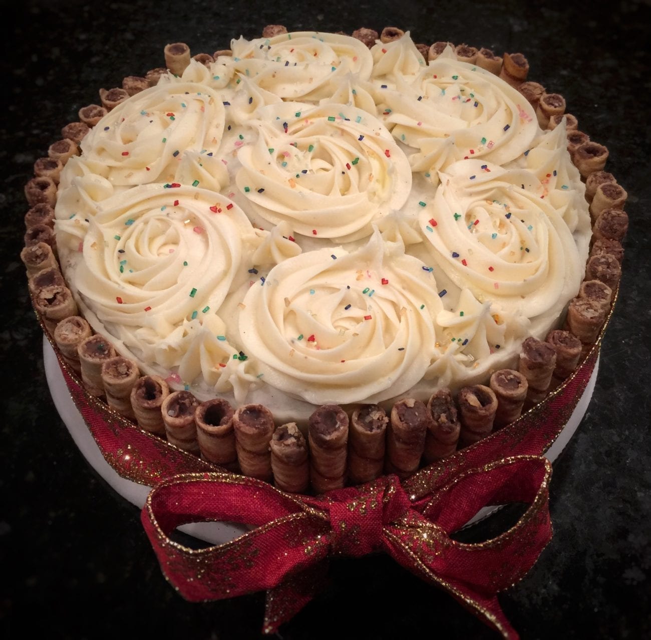 Spiced Cake with Cream Cheese Frosting