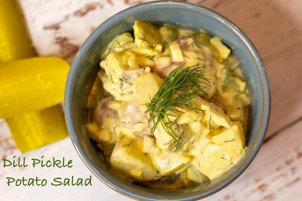 Easy Dill Pickle Potato Salad