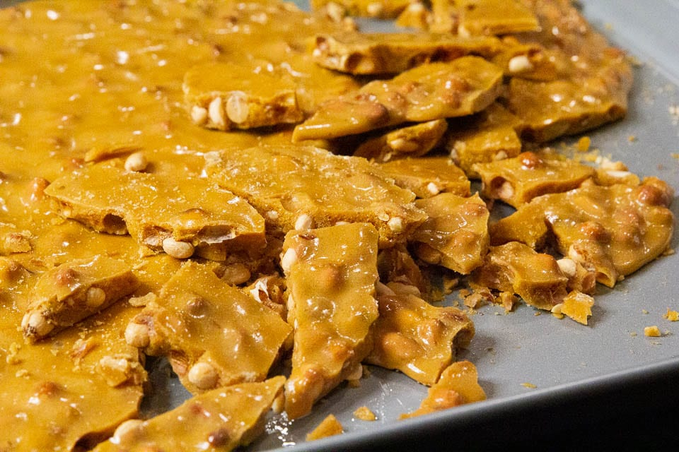 Great Grandma's Peanut Brittle